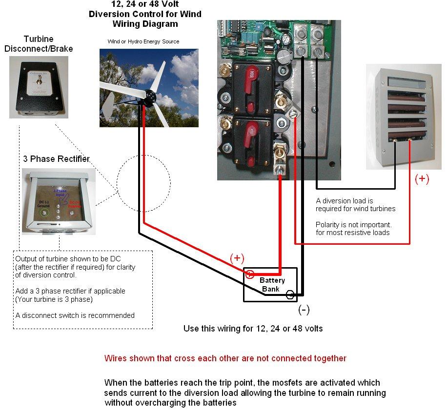 12 Volt Wind Turbine Wiring Diagram