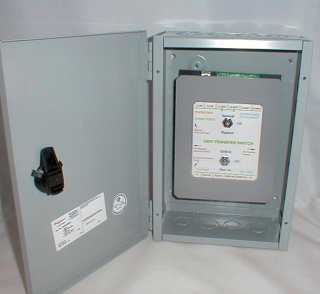 Dorable Inverter Transfer Switch Wiring Diagram Embellishment ... on